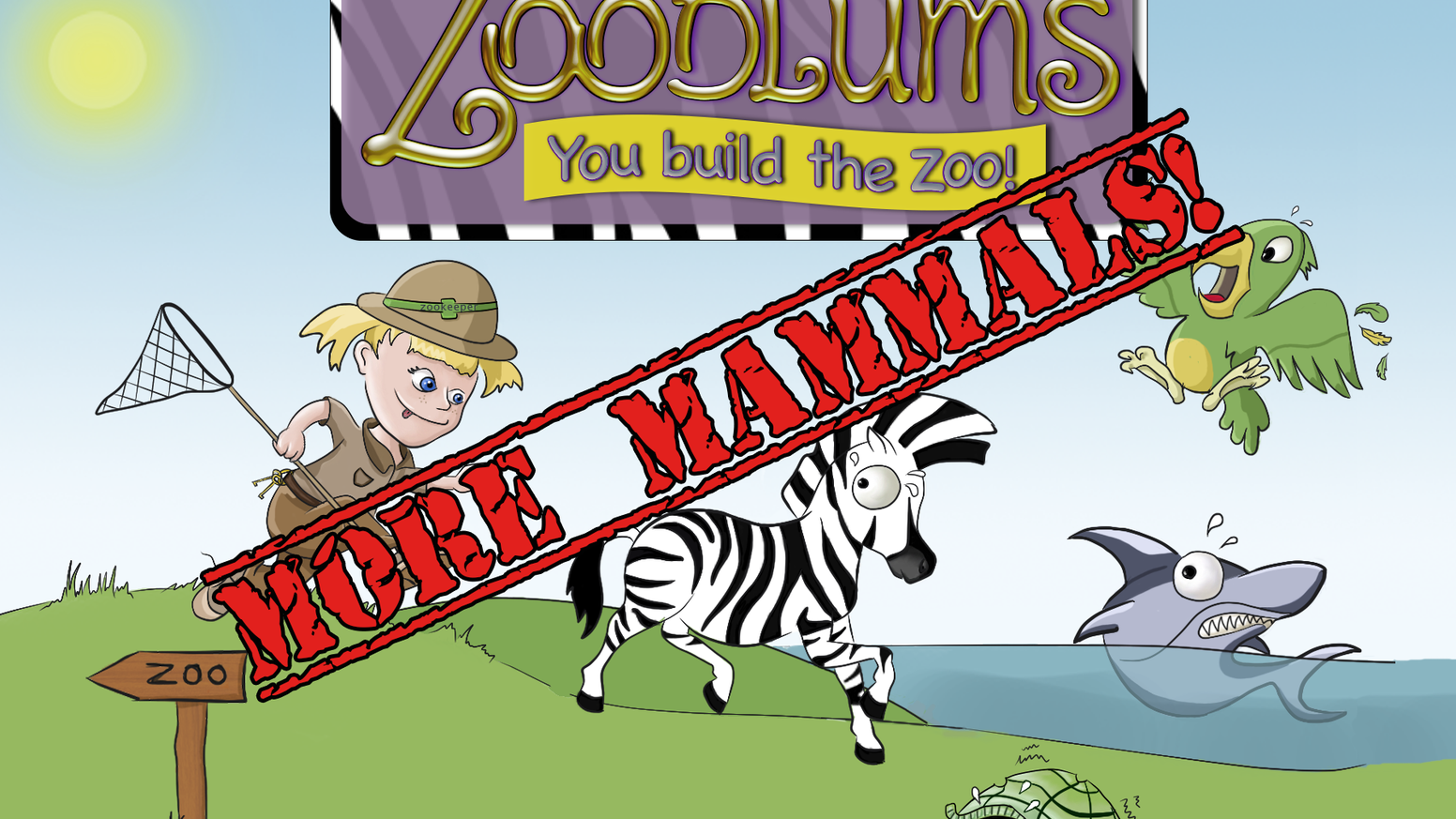 Zoodlums More Mammals Mini Expansion by Dustin Oakley » Ship