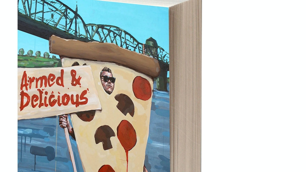 ARMED & DELICIOUS --- a novel about love, crime and pizza. project video thumbnail