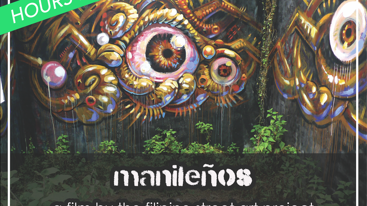 Support Filipino street artists and receive original works from Manila, all while contributing to our social cause as filmmakers.