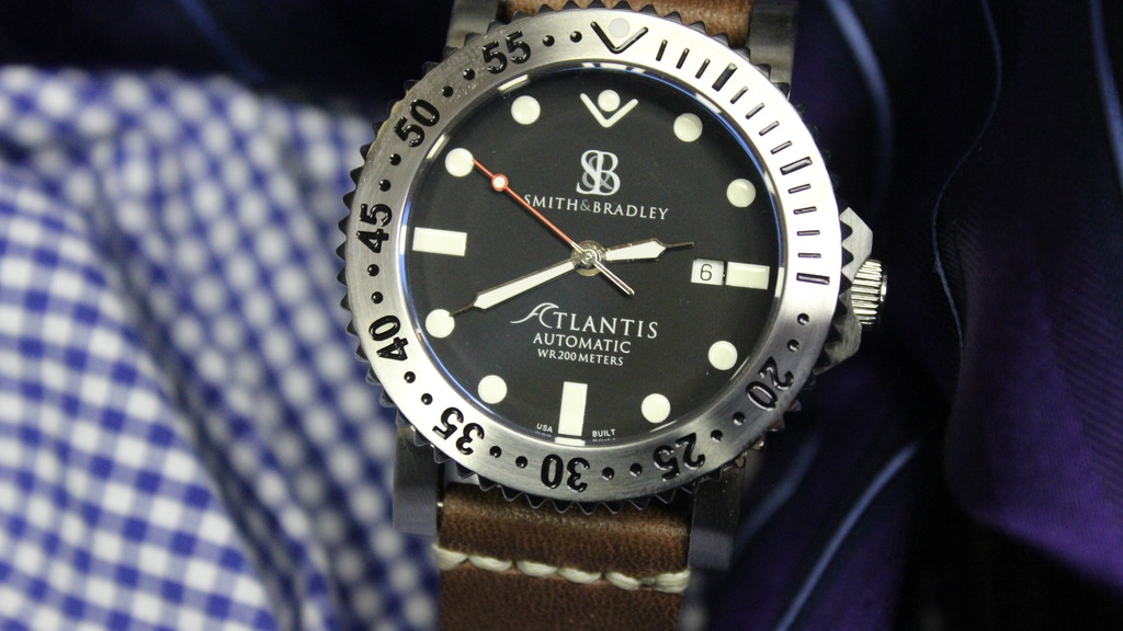The Atlantis: An American Built Automatic Dive Watch project video thumbnail