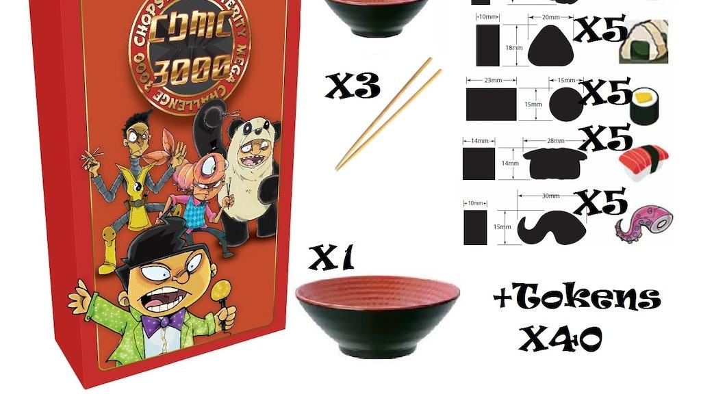Chopstick Dexterity Mega Challenge 3000 (CDMC 3K) Board Game project video thumbnail