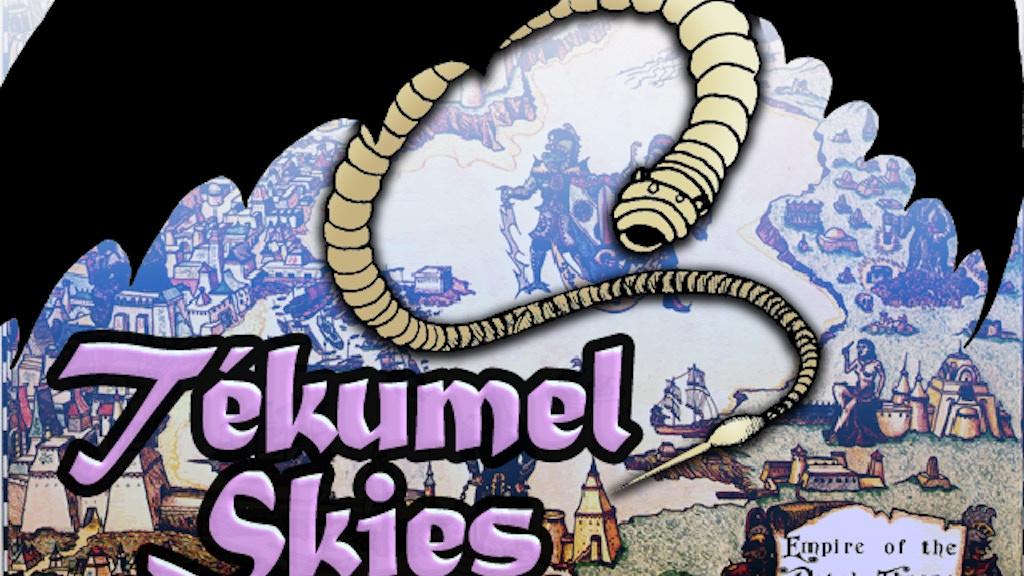 Tekumel Skies project video thumbnail