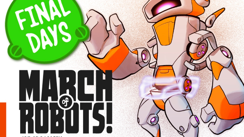 MARCH of ROBOTS! - Art Book Project project video thumbnail