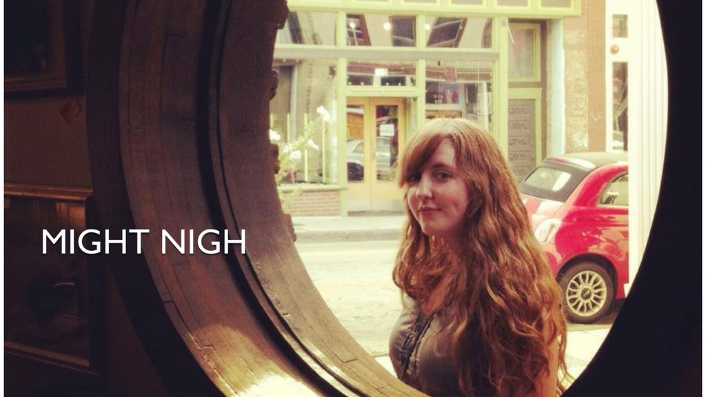 MIGHT NIGH - A new record from Alexa Woodward project video thumbnail