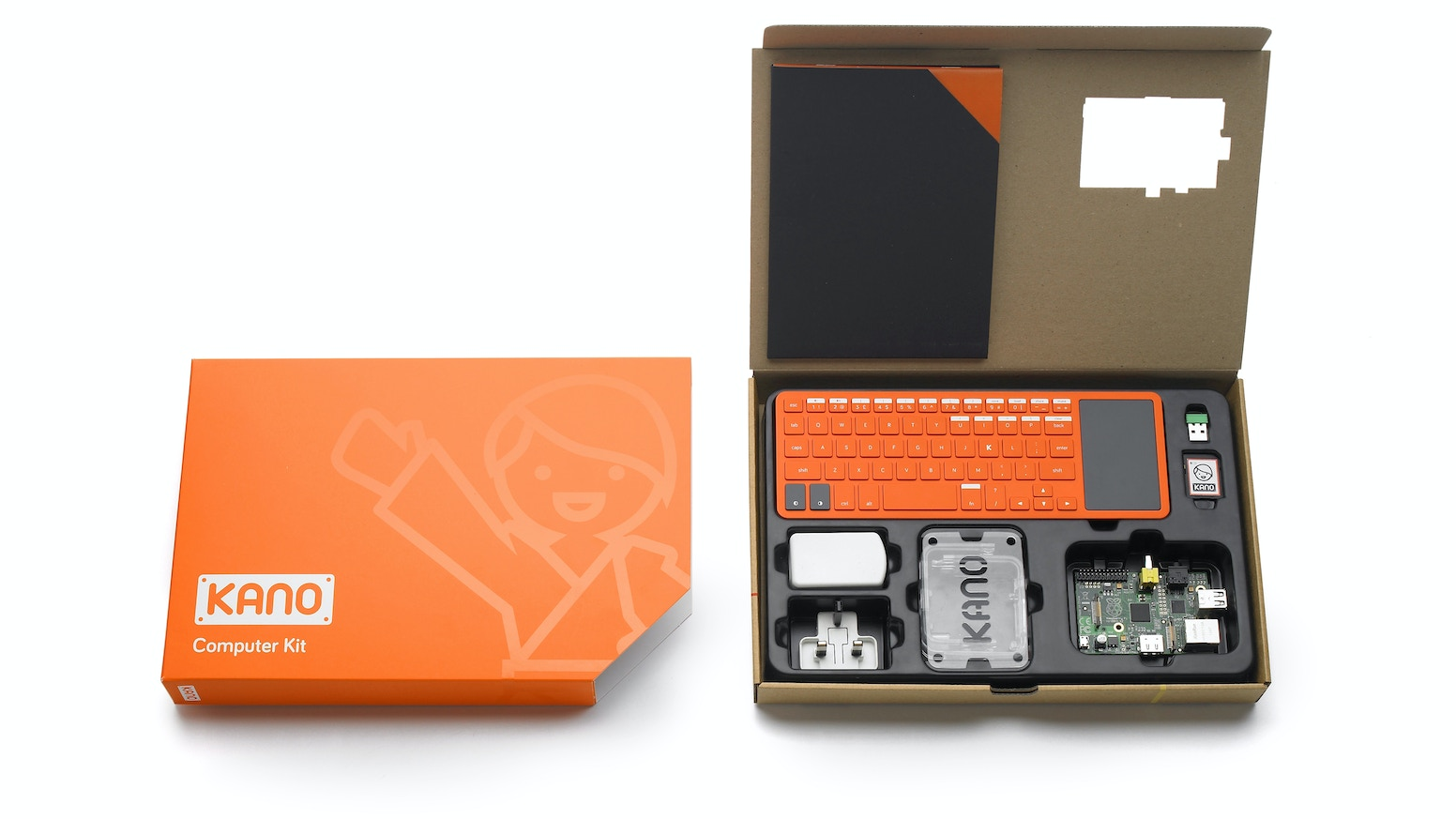 Kano a computer anyone can make by kano kickstarter a computer and coding kit for all ages all over the world simple as solutioingenieria Choice Image