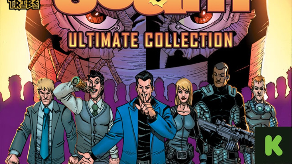 SCAM Ultimate Collection Hardcover Graphic Novel project video thumbnail
