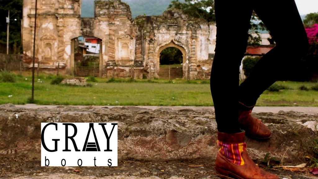 Gray Boots: Custom-designed, handcrafted Guatemalan boots project video thumbnail