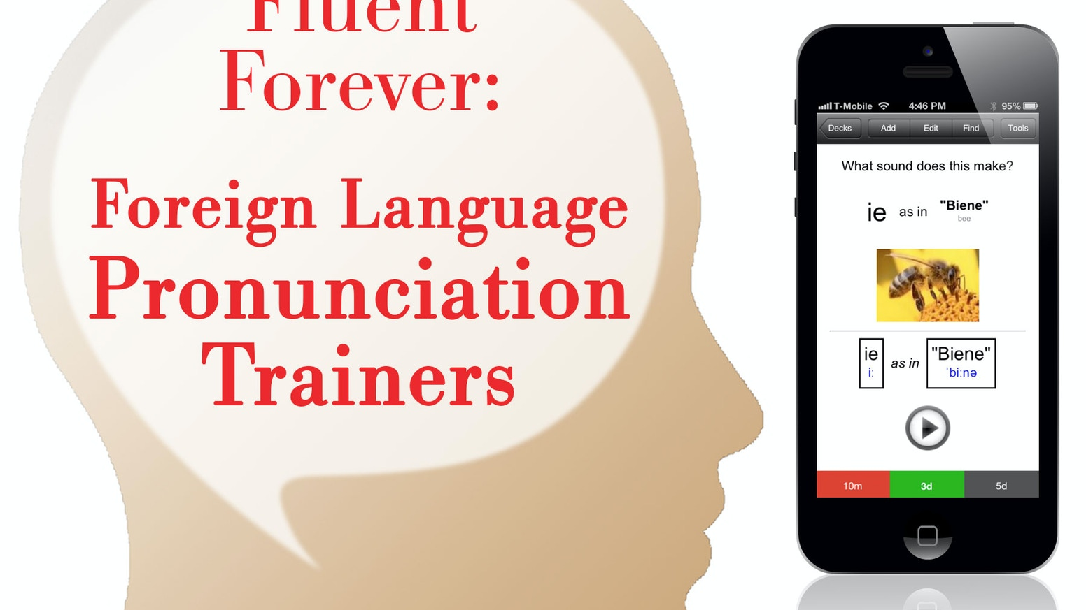 Fluent Forever: Foreign Language Pronunciation Trainers by