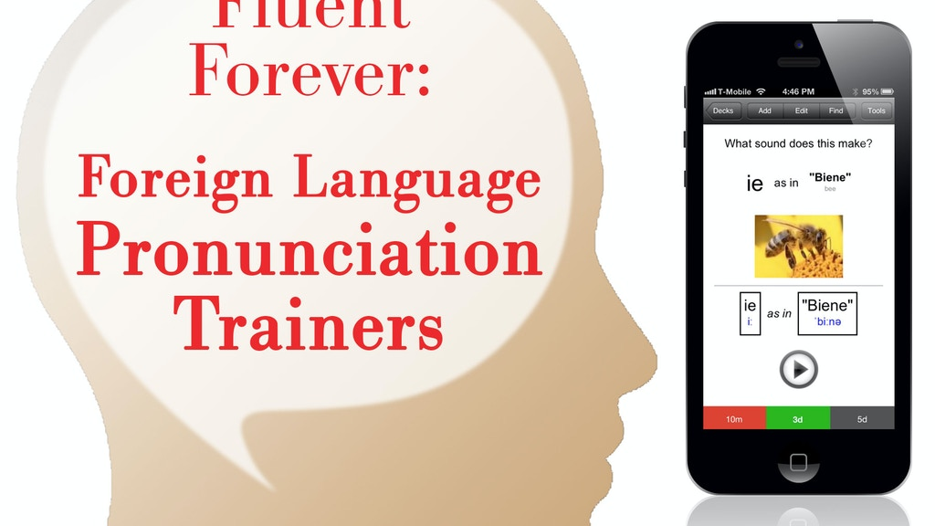 Fluent Forever: Foreign Language Pronunciation Trainers project video thumbnail