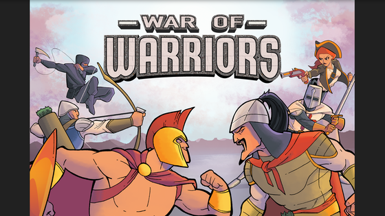 War of Warriors - A Family Friendly Tabletop Game of War