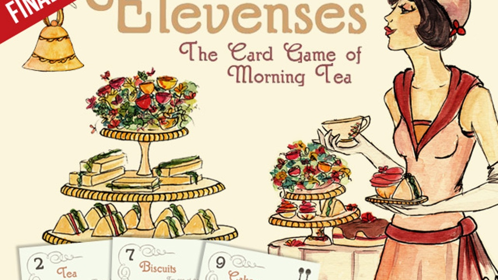 Elevenses - The Card Game of Morning Tea project video thumbnail