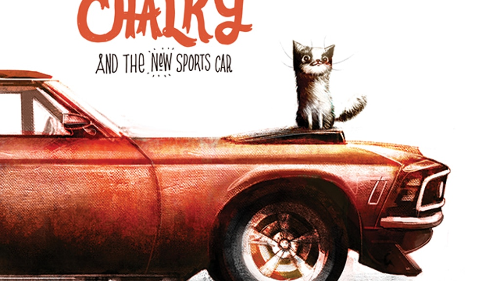 Chalky and the New Sports Car - Children's Picturebook project video thumbnail
