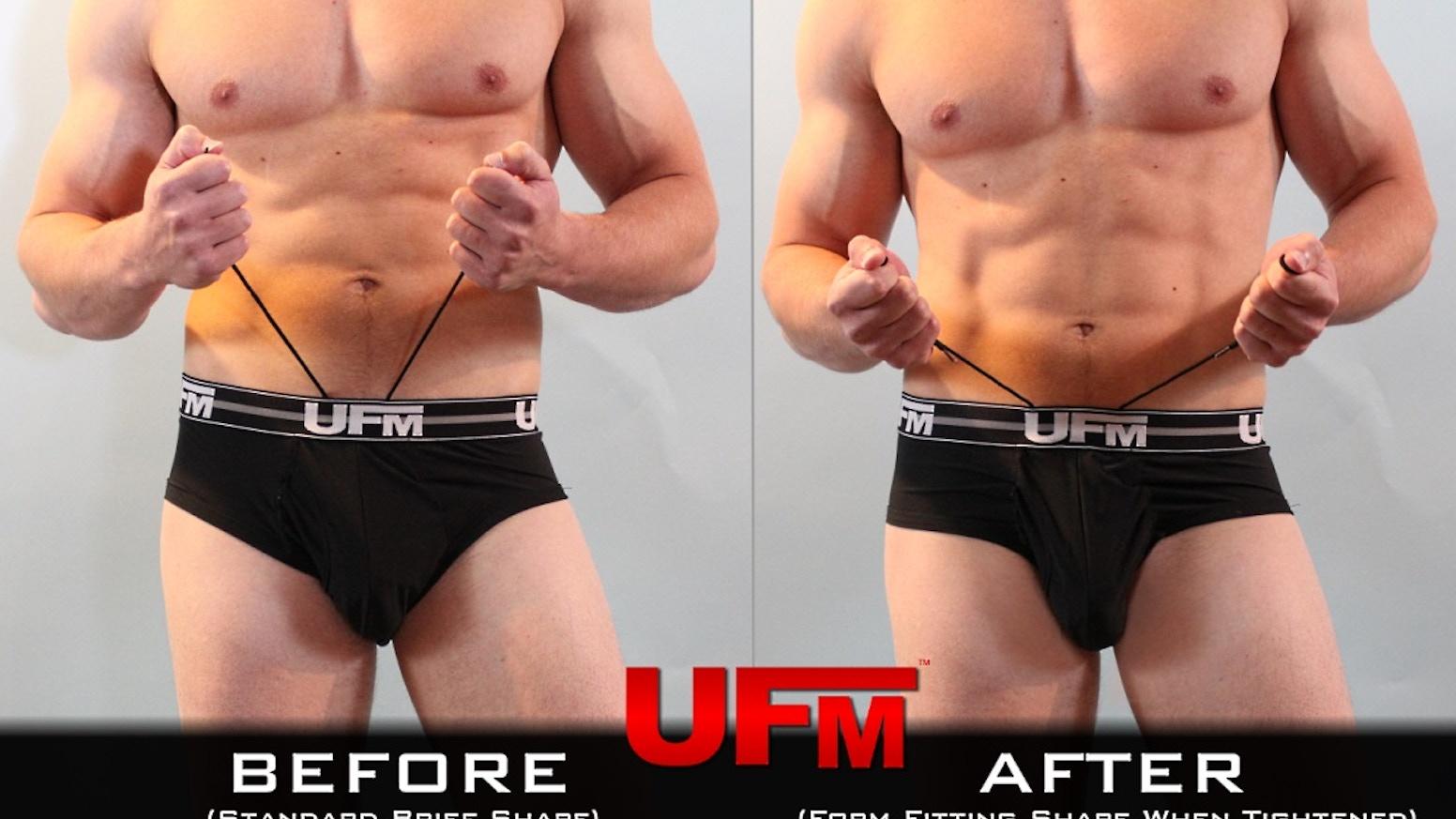 Men s Briefs w  Adjustable Pouch - UFM Underwear For Men by Eric ... 3a52077881