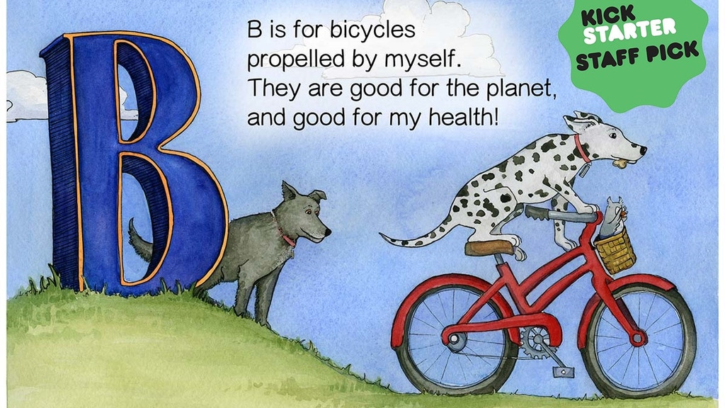 """B is for Bicycles"", Bring it to life! project video thumbnail"