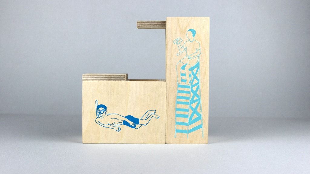 Down at the Lido - - - Adventures, Goggles and Desk Tidies project video thumbnail