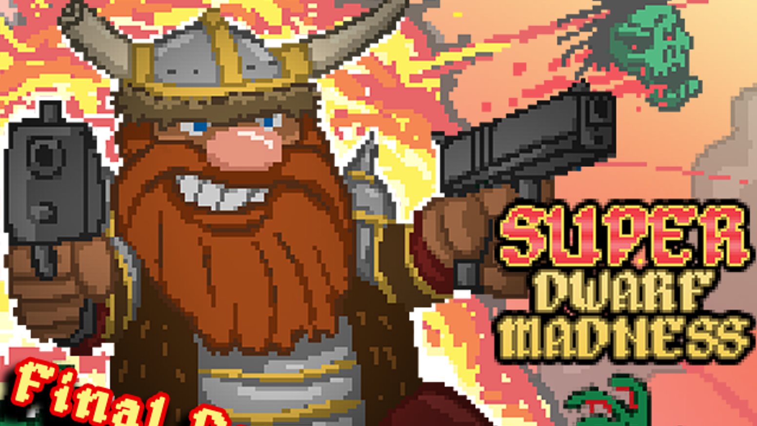 """Inspired by Tolkien's """"The Hobbit,"""" these Dwarves are taking back their underground kingdom - with GUNS! A twin-stick  Action RPG epic."""