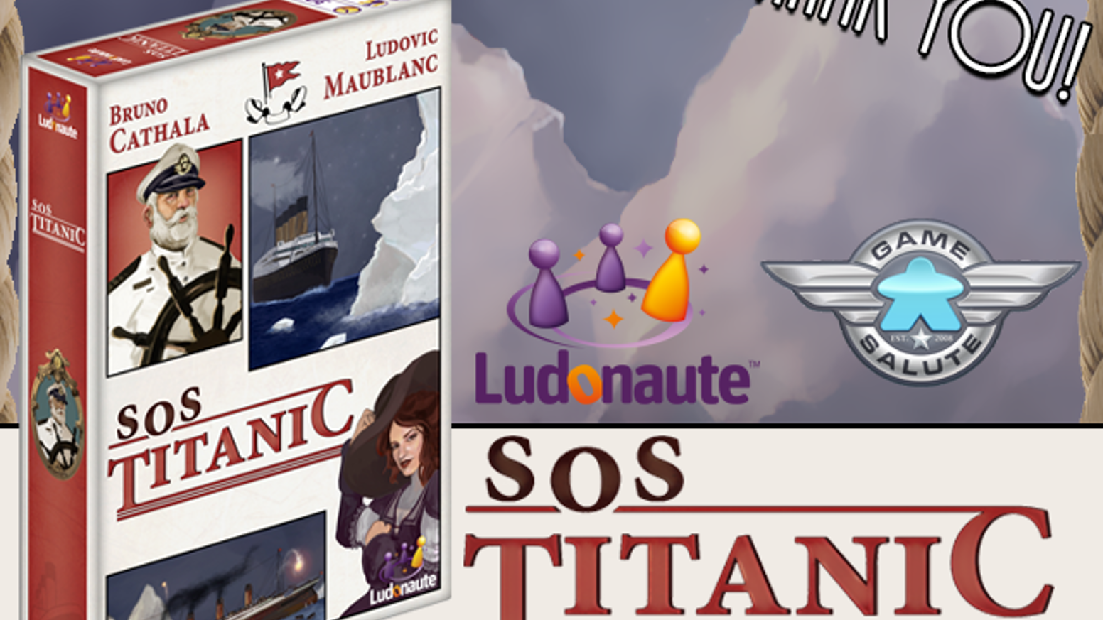 SOS Titanic Card Game – Review