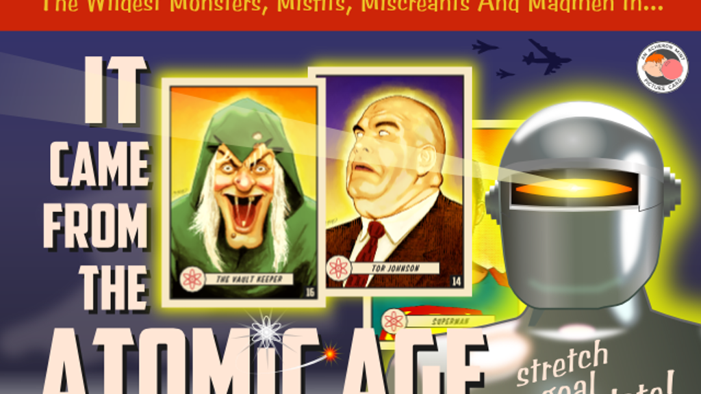It Came From the Atomic Age Trading Cards project video thumbnail