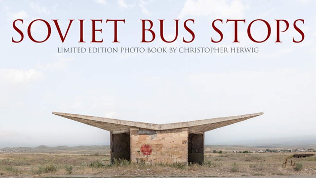 Soviet Bus Stops - Limited edition photo book project video thumbnail