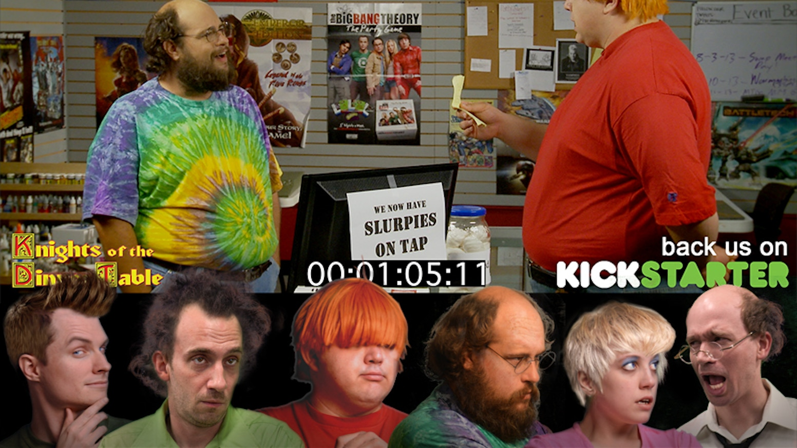 B.A., Bob, Dave, Brian & Sara are ready to go live - Live Action Series that is! Help make the KoDT Movie a reality!