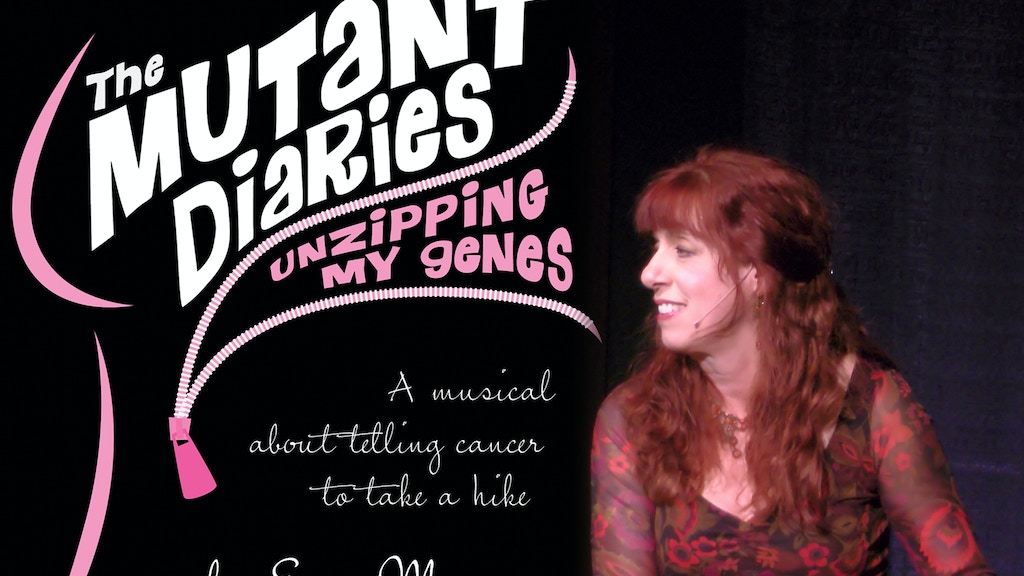 """The Mutant Diaries: Unzipping My Genes"" DVD project video thumbnail"