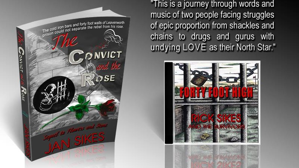 The Convict And The Rose Book - Forty Foot High CD project video thumbnail
