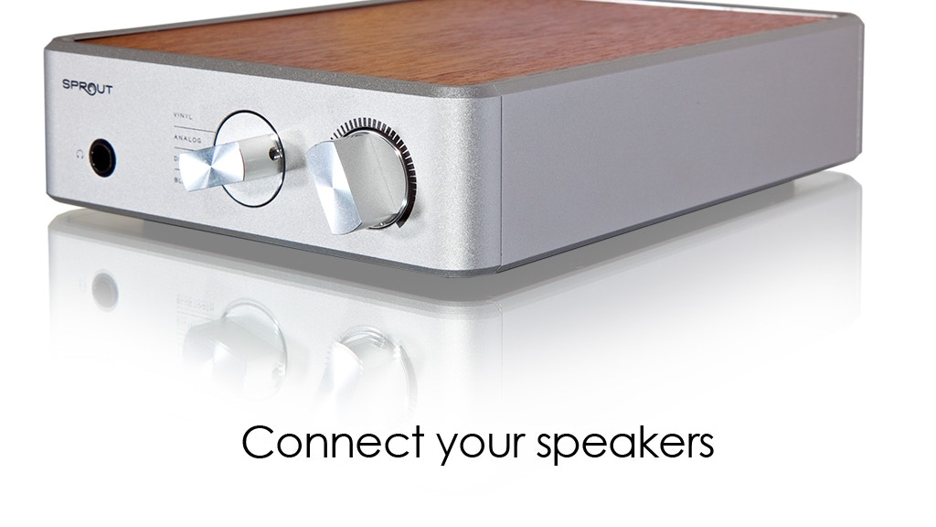 Sprout: HiFi Stereo Amp that transforms the way you listen project video thumbnail