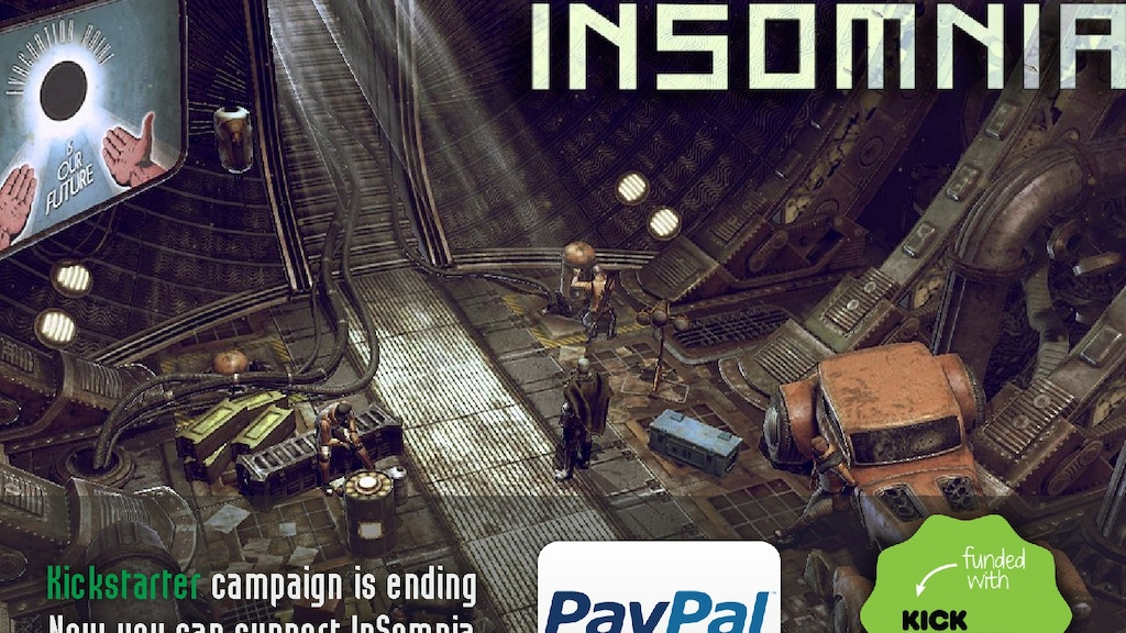 InSomnia - An RPG Set in a Brutal Dieselpunk Universe project video thumbnail