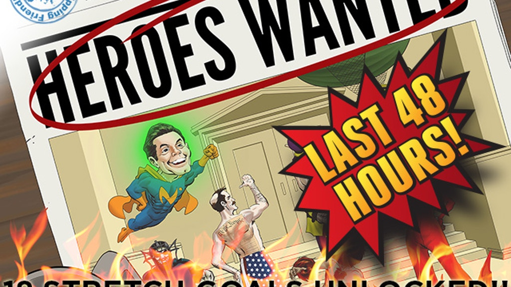 Heroes Wanted - a tactical board game for 1-5 heroes. project video thumbnail