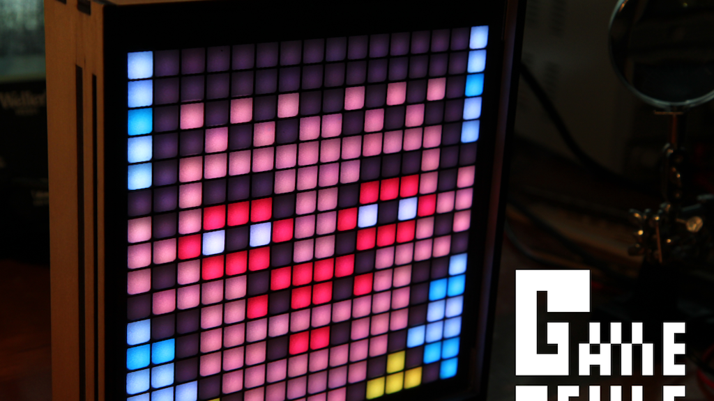 Game Frame: The Art of Pixels project video thumbnail