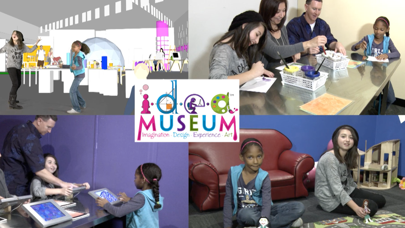 the hub, a new interactive creative space at i.d.e.a. museum by