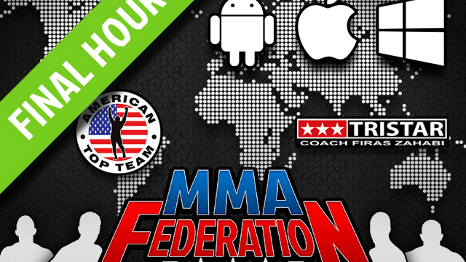 The all-new social game based in the world of MMA, introducing Real Achievements, Real Teams and Real Fighters!