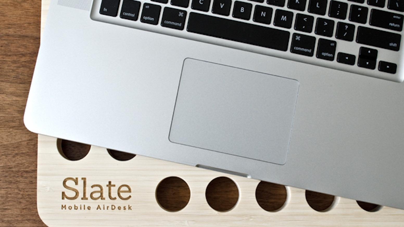a9905c1d57c5 Slate - Mobile LapDesk by Nathan Mummert — Kickstarter