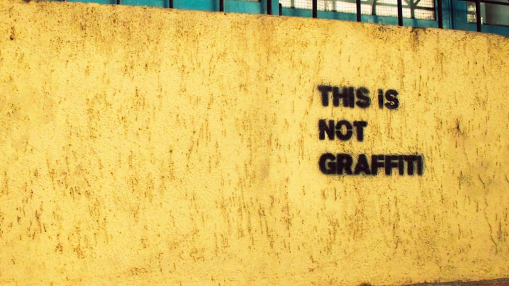 THIS IS NOT GRAFFITI: A Film on Revolutionary Graffiti & Art project video thumbnail