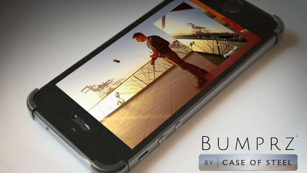 Bumprz, the most minimal iPhone case. Pre-Order Now! project video thumbnail