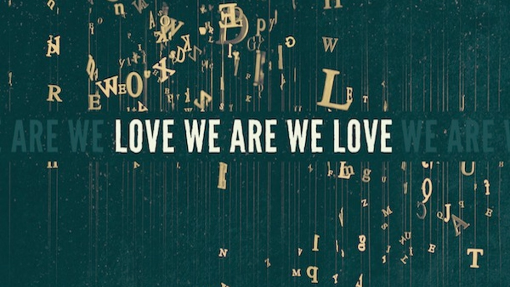 """Spread the """"LOVE WE ARE WE LOVE"""" - Official US Release project video thumbnail"""