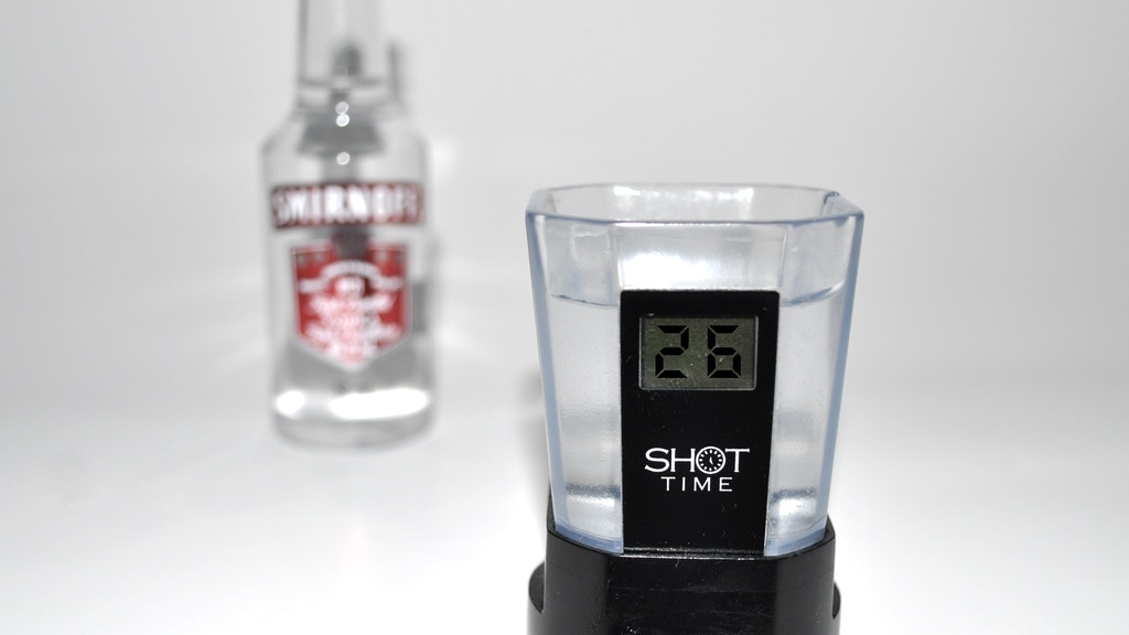 Project image for Shot Time: Smart Shot Glass. Technology Meets Drinking