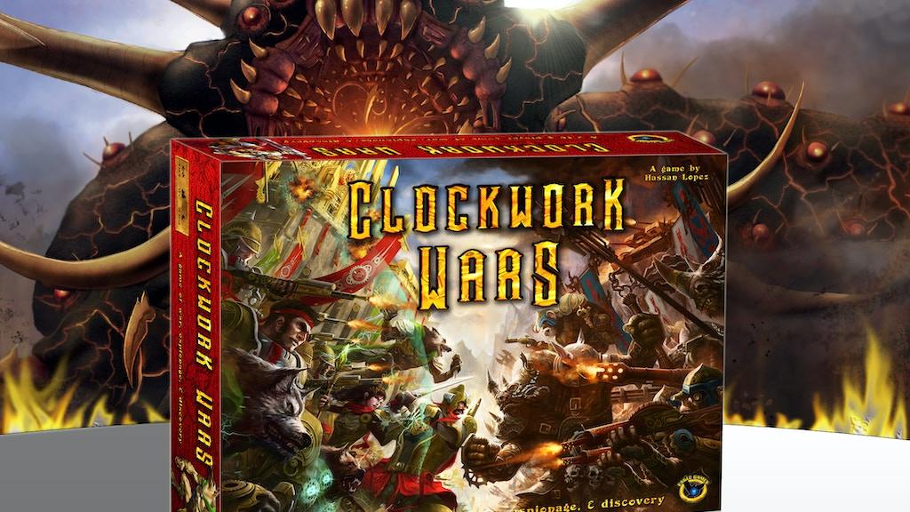 Clockwork Wars, a fantasy-steampunk war game project video thumbnail