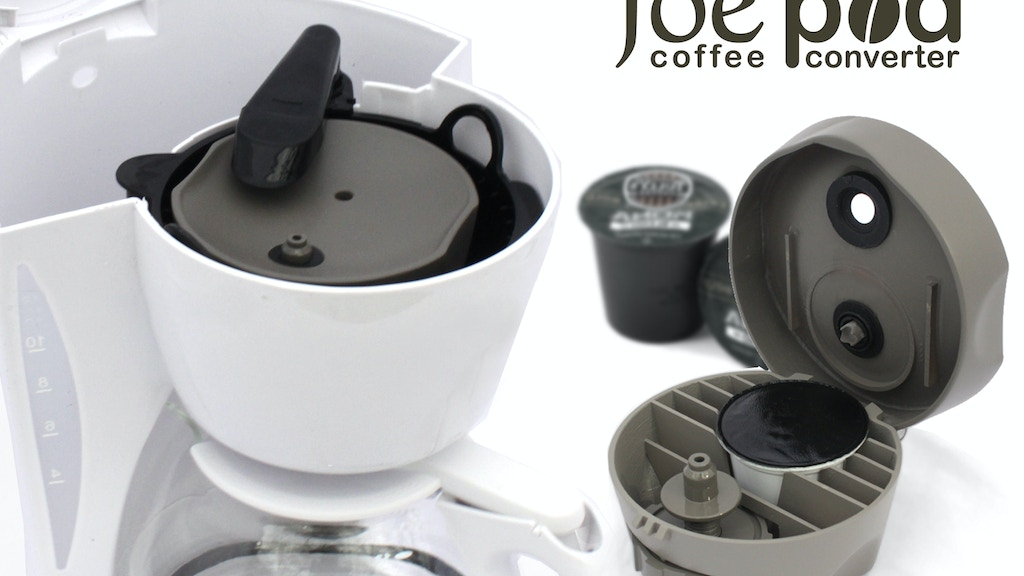 joe pod: Convert ANY Coffee Maker to use Coffee Single Packs project video thumbnail