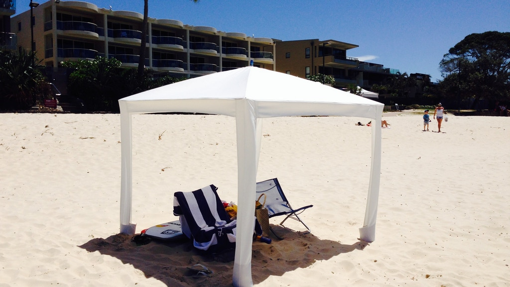 Cool-Cabanas: The World's Best Sun Shelter. project video thumbnail