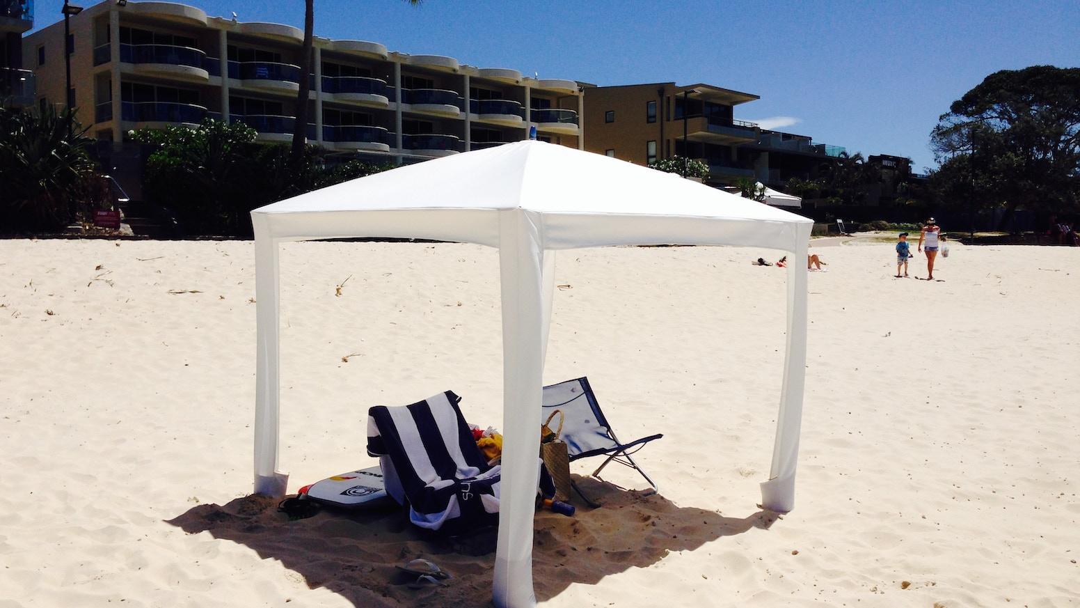 super cute 366cd 0d319 Cool-Cabanas: The World's Best Sun Shelter. by MARK FRASER ...