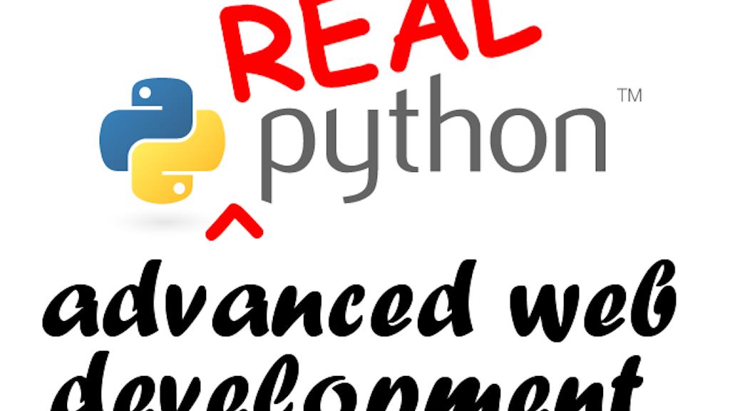 Real Python: Advanced Web Development, featuring Django 1.6 project video thumbnail