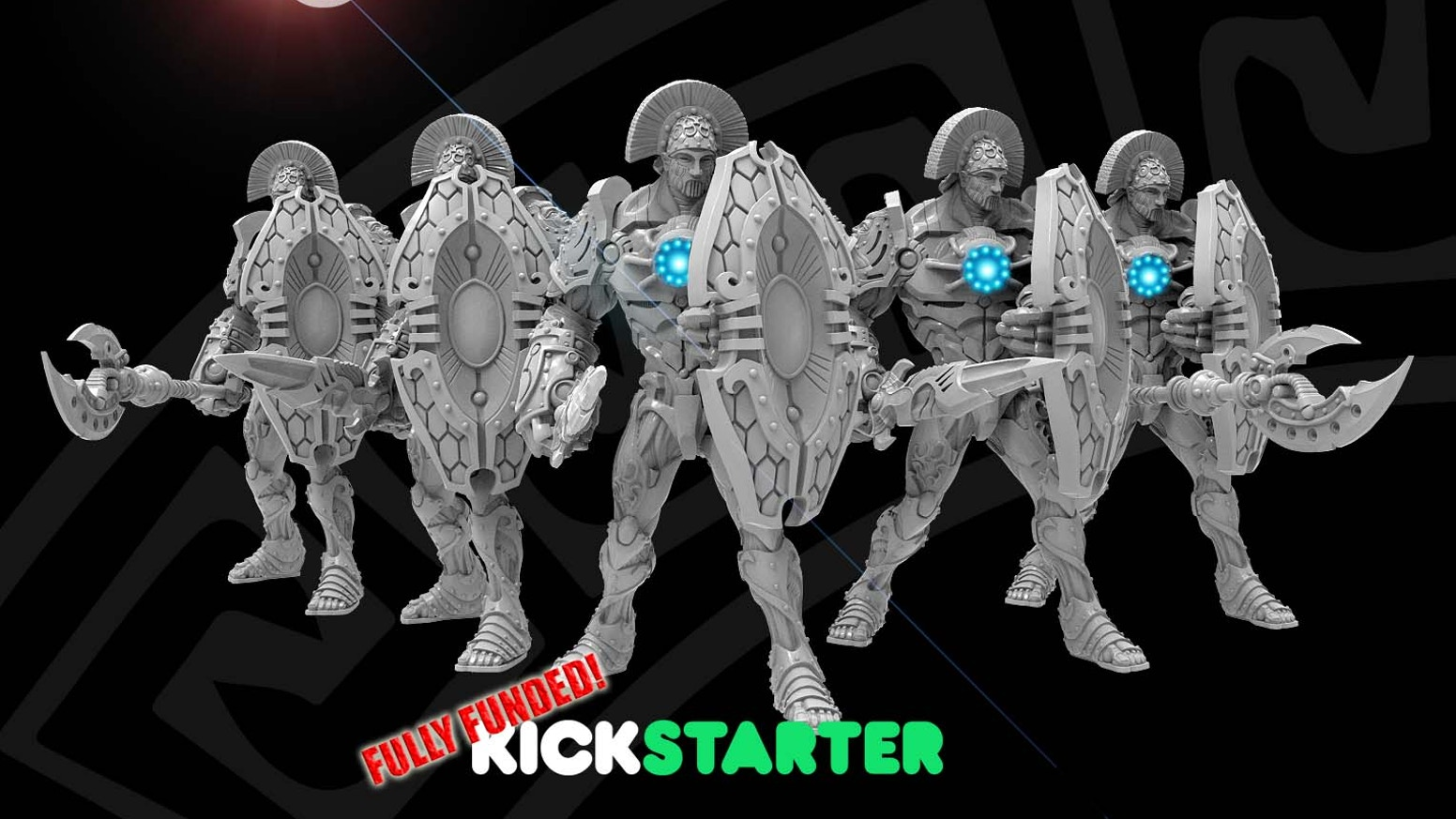 Help me fund the Argonauts! Sculpted by Dave Kidd, based on concept art from Roberto Cirillo, created by Fet Milner and myself!