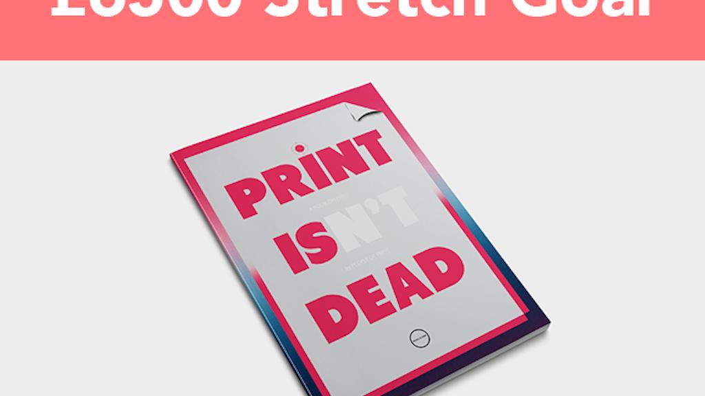 PRINT ISN'T DEAD :: Quarterly Publication project video thumbnail