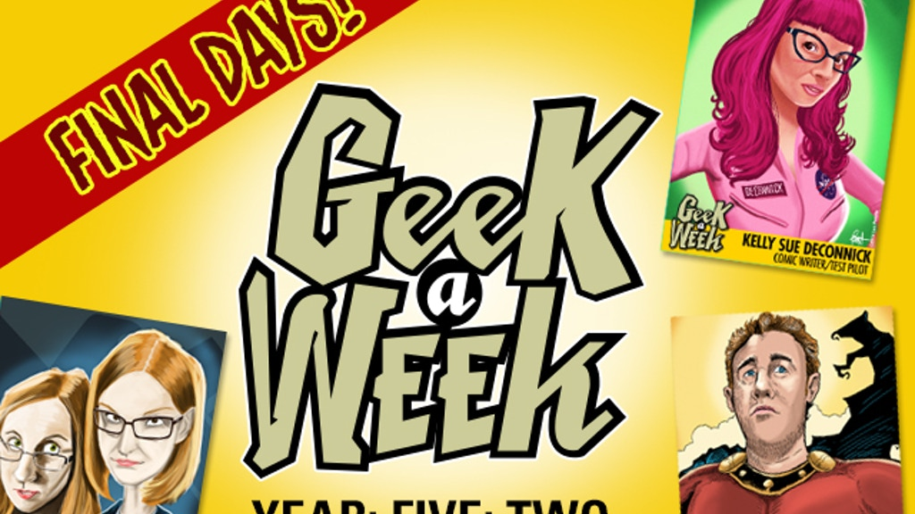 Geek A Week: Year Five Two project video thumbnail