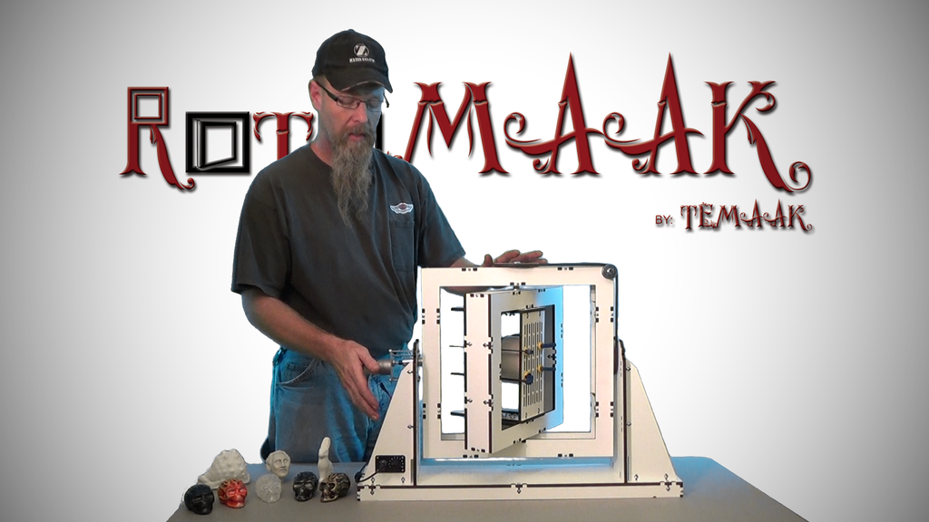 RotoMAAK: Desktop Rotational Casting Machine project video thumbnail