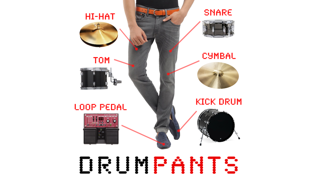 DrumPants: An Entire Band in your Pocket project video thumbnail