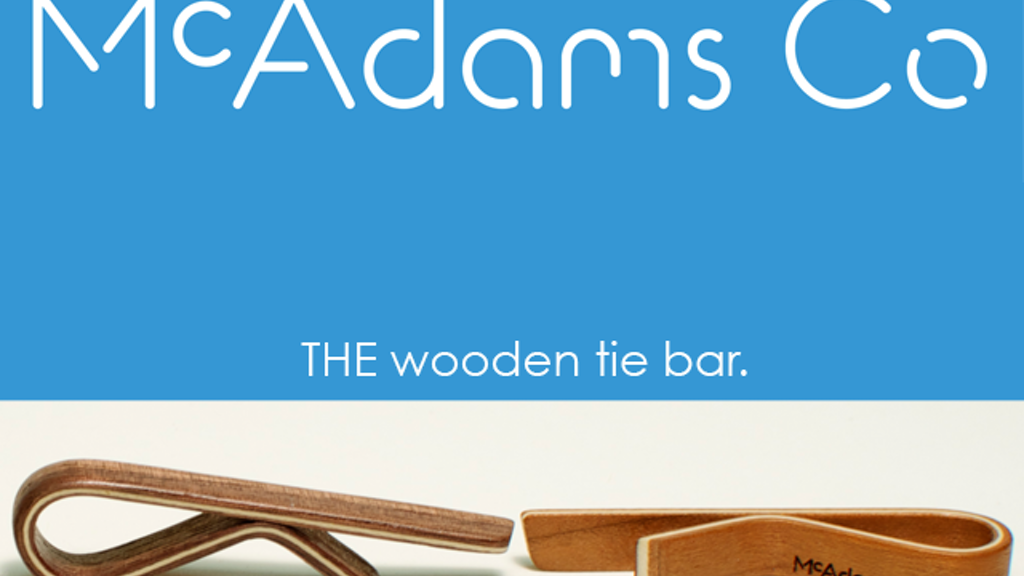 McAdams Co. Creator of the first all wooden tie bar project video thumbnail