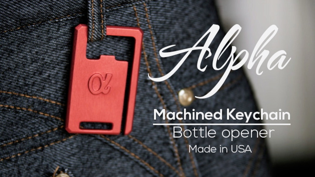 Alpha - The World's Best Keychain. project video thumbnail