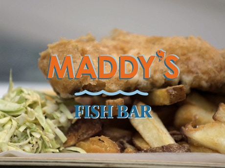 Maddy s fish bar get us frying by madeline inoue for Max fish menu